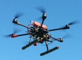 Dron fotovoltaico
