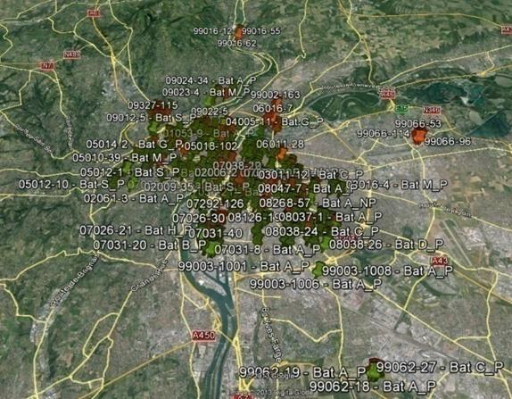 10. Patrimoine immobilier de la Ville de Lyon (288 Ensembles immobiliers, près de 10 000 toitures analysées)