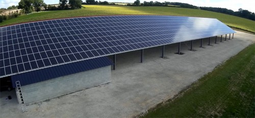 01. Audit de 2 installations en toiture agricole