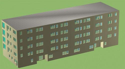 08. Copropriété de 38 logements à Courchevel