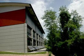 Intégration d'un Solar Wall sur un Gymnase Intercommunal de Montmélian