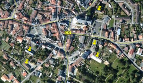 Patrimoine bâti de Nueil-les-Aubiers (16 bâtiments)
