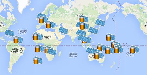 06. Cartographies monde – systèmes photovoltaïques hybrides