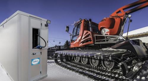 Dimensionnement d'un prototype de système d'alimentation électrique autonome pour station de carburant