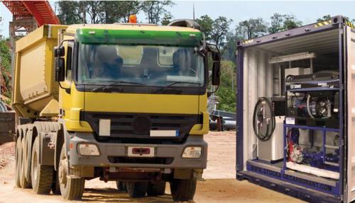 Dimensionnement d'un système photovoltaïque pour des stations de carburants (militaire)